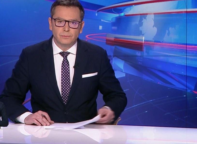 """Screen z """"Wiadomości"""" TVP /TVP /"""