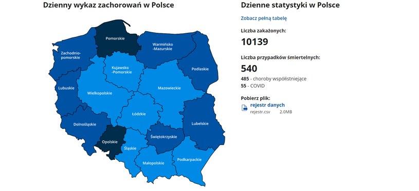 Screen ze strony gov.pl /