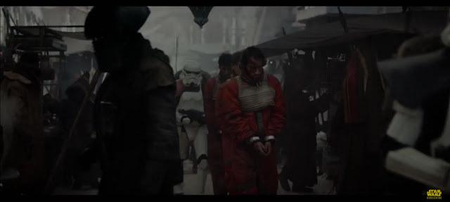 """Screen ze zwiastuna filmu """"Łotr Jeden. Gwiezdne wojny - historie"""" /materiały prasowe"""