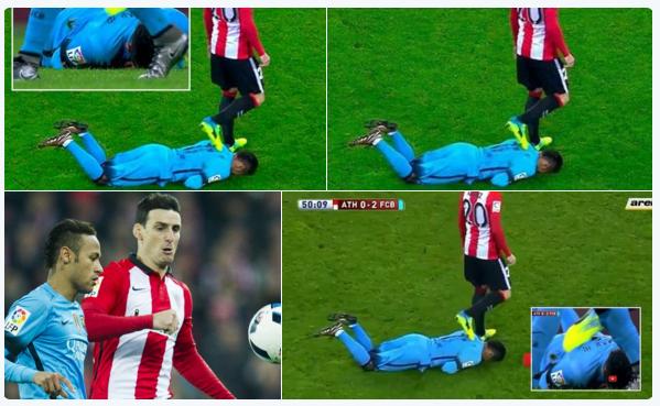 Screeny z meczu Athletic - Barcelona /INTERIA.PL