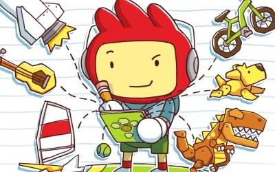 Scribblenauts - fragment okładki z gry /Informacja prasowa