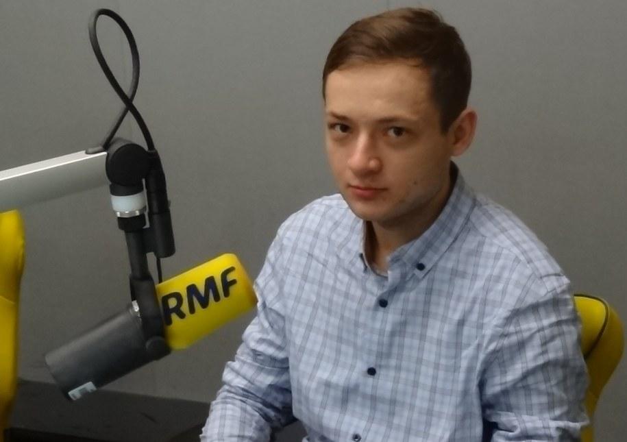 Sdam Tużnik /Grzegorz Jasiński /RMF FM