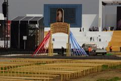 ŚDM: Ostatnie przygotowania Campusu Misericordiae w Brzegach przed wizytą papieża