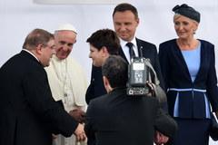 ŚDM: Papież Franciszek na Balicach