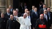 ŚDM: Przed wyjazdem do Brzegów papież był w bazylice franciszkanów