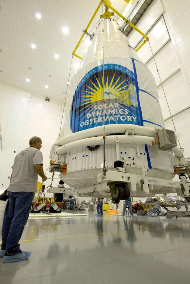 SDO jeszcze na Ziemi  /NASA