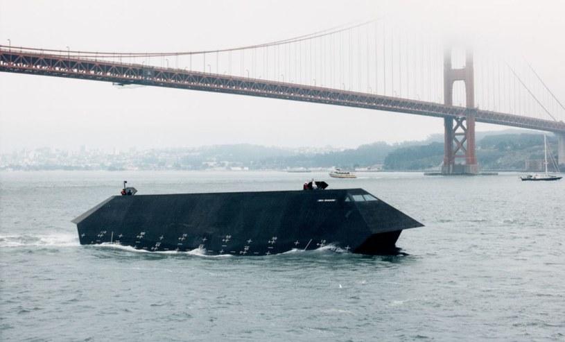 Sea Shadow. Fot. Lockheed Martin /materiały prasowe