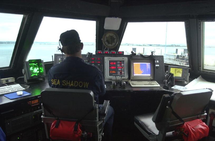 Sea Shadow - mostek był naszpikowany technologiami. Fot. US Navy /materiały prasowe
