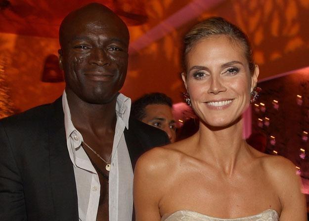 Seal i Heidi Klum w szczęśliwszych czasach fot. Christopher Polk /Getty Images/Flash Press Media