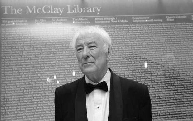 Seamus Heaney, poeta i eseista irlandzki, w 1995 roku uhonorowany literacką Nagrodą Nobla. /AFP