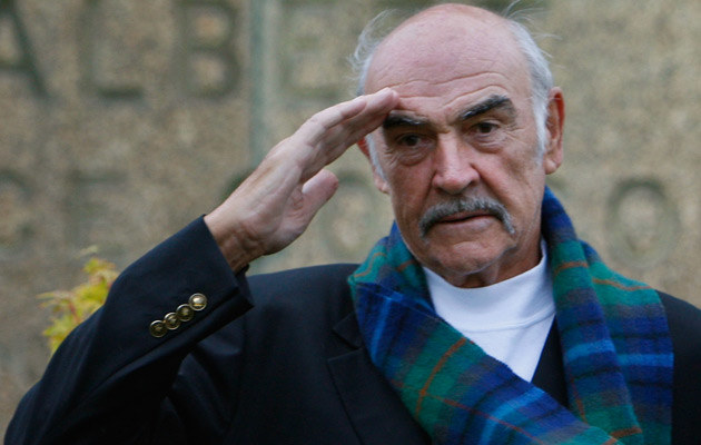 Sean Connery, fot. Jeff J Mitchell  /Getty Images/Flash Press Media