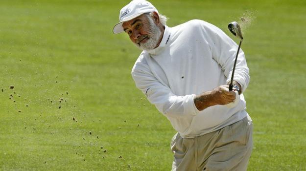 Sean Connery jest ponoć fatalnym golfiarzem... / fot. David Cannon /Getty Images/Flash Press Media