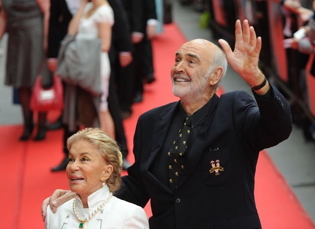 Sean Connery z żoną /Getty Images/Flash Press Media