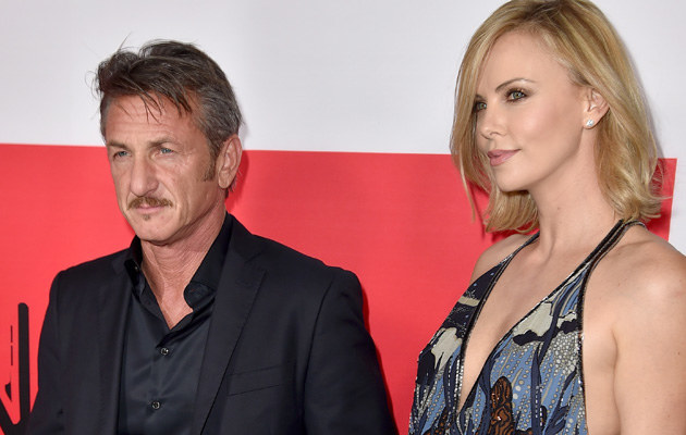 Sean Penn i Charlize Theron /Kevin Winter /Getty Images