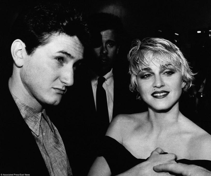Sean Penn i Madonna w 1986 roku /AP/Fotolink