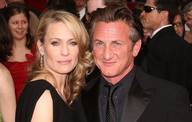 Sean Penn i Robin Wright, fot. Jason Merritt  /Getty Images/Flash Press Media