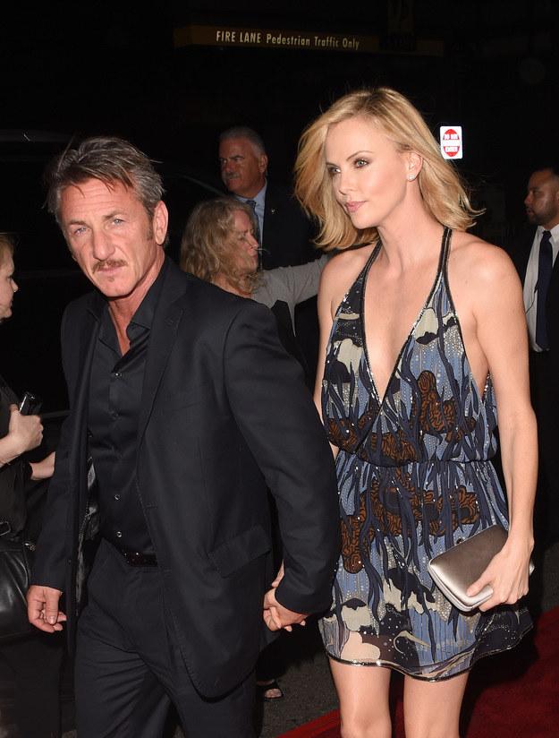 Sean Penn rozstał się niedawno z Charlize Theron /Jason Merritt /Getty Images