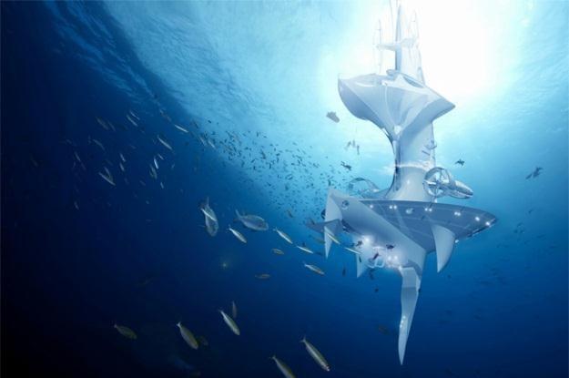 SeaOrbiter - innowacyjna stacja badawcza naprawdę powstanie /Internet