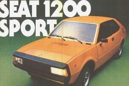 Seat 1200 sport bocanegra /