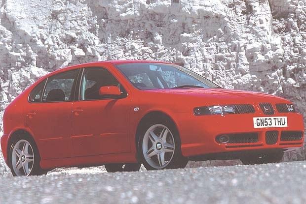 Seat Leon Cupra 20V T (kliknij) /INTERIA.PL