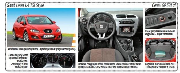 "Seat leon /tygodnik ""Motor"""