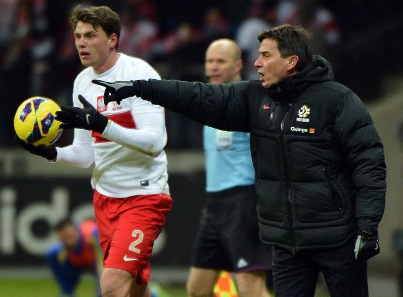 Sebastian Boenisch i Waldemar Fornalik /AFP