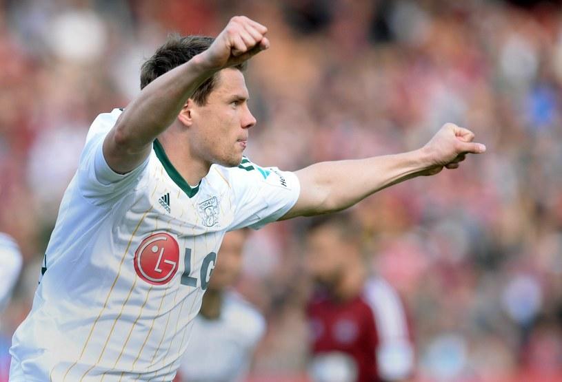 Sebastian Boenisch - piłkarz Bayeru Leverkusen /AFP
