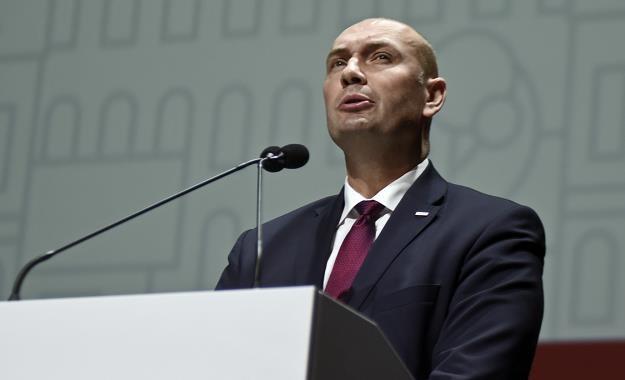 Sebastian Chwalek, wiceprezes PGZ. Fot. M. Lasyk /Reporter