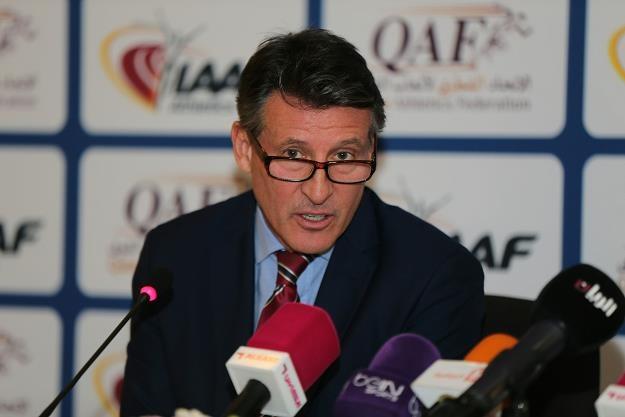 Sebastian Coe, prezes IAAF, b. wybitny 1500-metrowiec /AFP