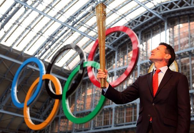 Sebastian Coe, przewodniczący komitetu organizacyjnego IO w Londynie /AFP