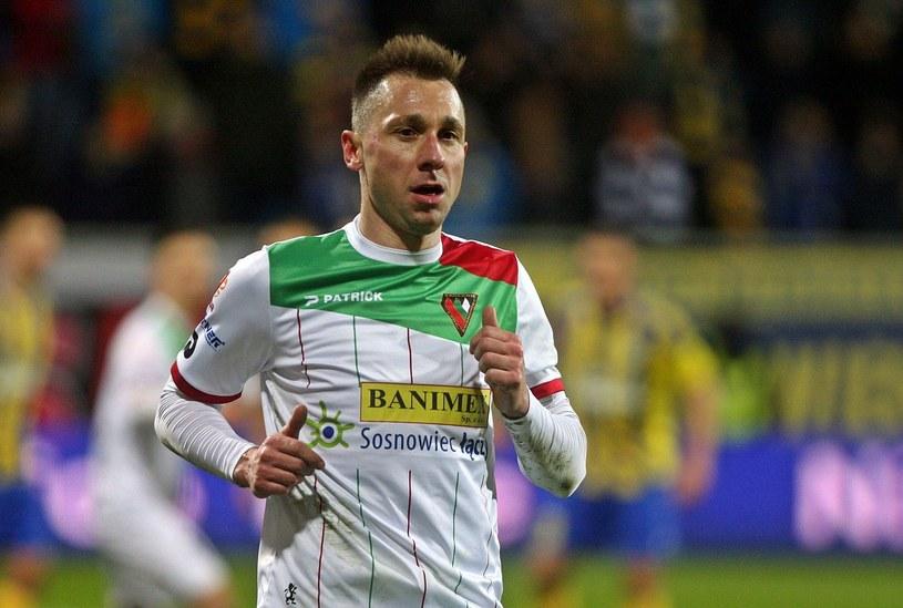 Sebastian Dudek - piłkarz Zagłębia Sosnowiec /East News