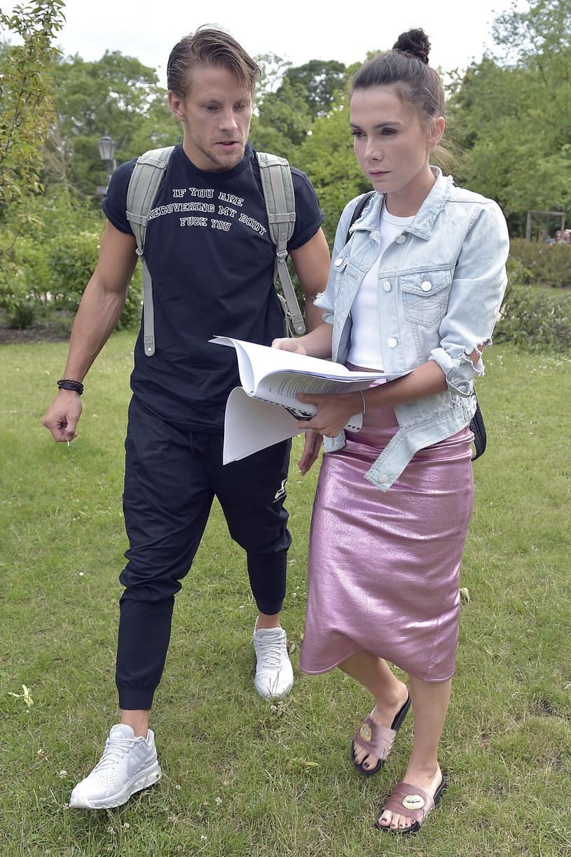 Sebastian Fabijański i Olga Bołądź /AKPA