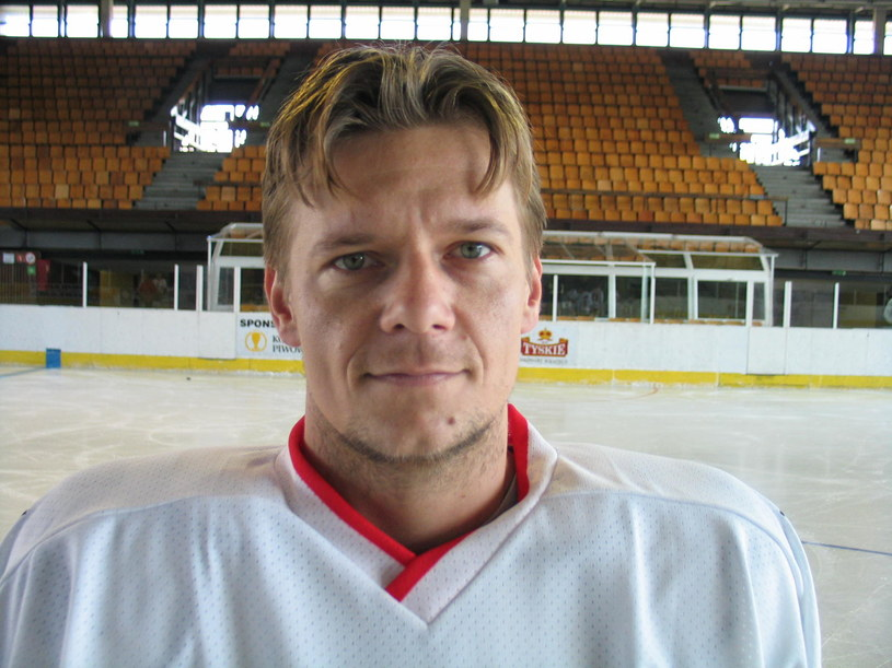 Sebastian Gonera w barwach GKS-u Tychy w 2004 r. /Bartłomiej Barczyk /Agencja Gazeta