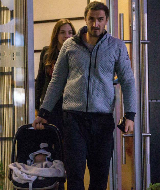 Sebastian jest zakochany w swojej córeczce /- /Foto IP