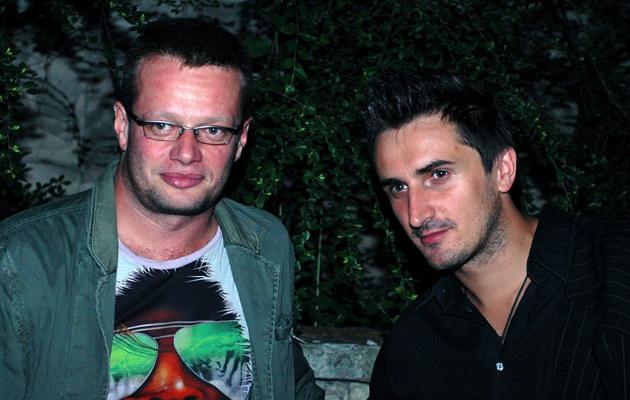Sebastian Karpiel-Bułecka, na zdjęciu z Marcinem Mellerem /fot.Andrzej Szilagyi  /MWMedia