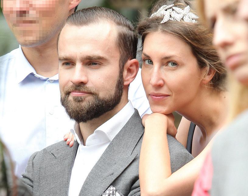 Sebastian Kulczyk z żoną /Paweł Wrzecion /MWMedia