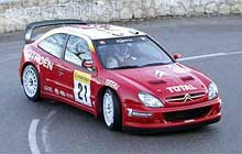 Sebastian Loeb (Citroen Xsara WRC) /INTERIA.PL