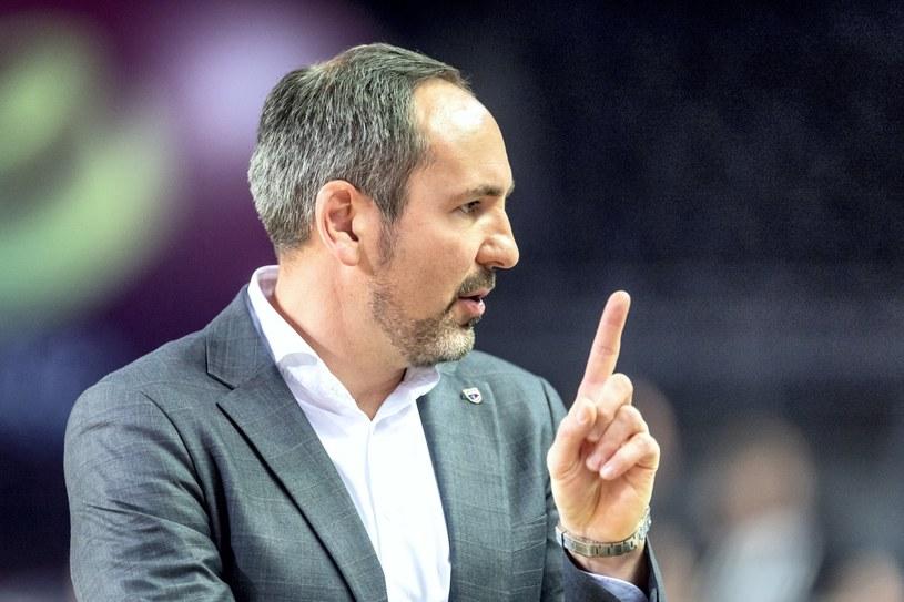 Sebastian Machowski, trener Polskiego Cukru /Tytus Żmijewski /PAP