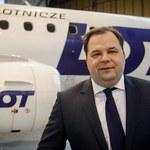 Sebastian Mikosz, prezes LOT podał się do dymisji!
