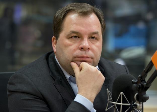 Sebastian Mikosz, prezes Lotu. Fot. KRZYSZTOF JASTRZĘBSKI /Agencja SE/East News