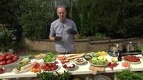 Sebastian Olma i nowalijki w kuchni