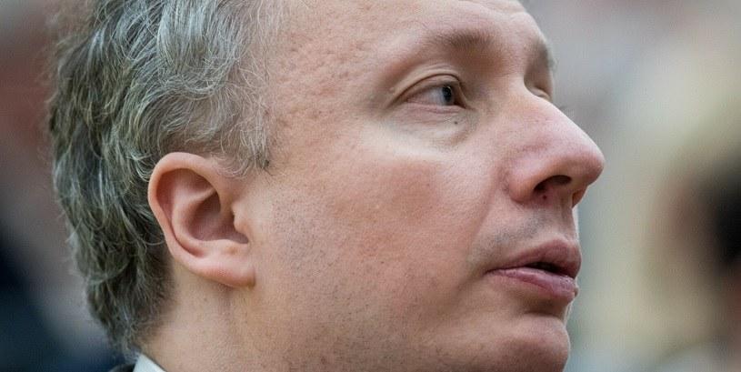 Sebastian Skuza, wiceminister finansów i Główny Inspektor Informacji Finansowej /Łukasz Piecyk /Reporter