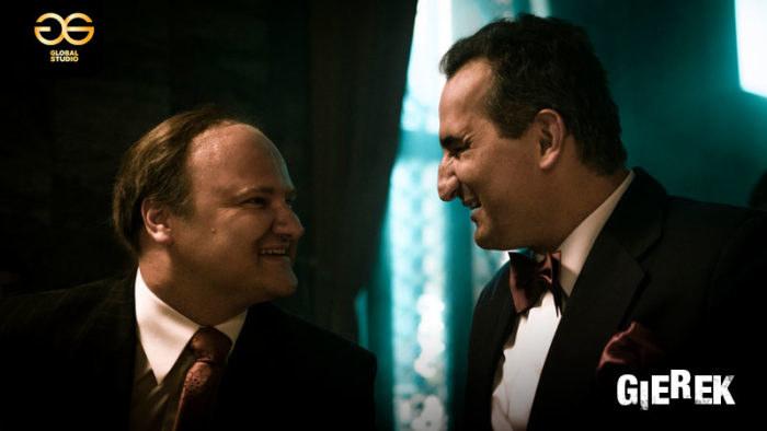Sebastian Stankiewicz i Michał Koterski na planie filmu /Materiały Global Studio /Materiały prasowe