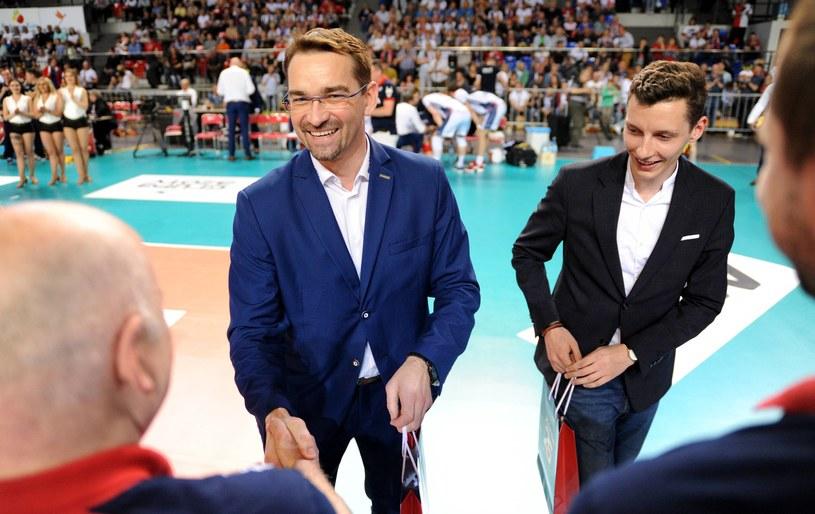 Sebastian Świderski (po lewej) /Fot. Rafał Rusek /Newspix