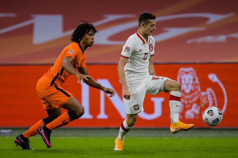 Sebastian Szymański do tej pory wystąpił w reprezentacji 11 razy. /Gerrit van Keulen /Getty Images