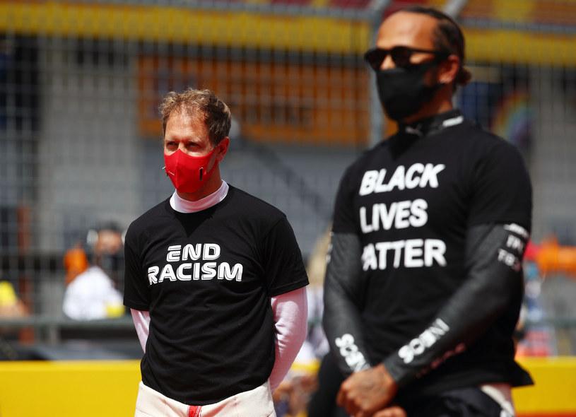 Sebastian Vettel i Lewis Hamilton /Mark Thompson /East News