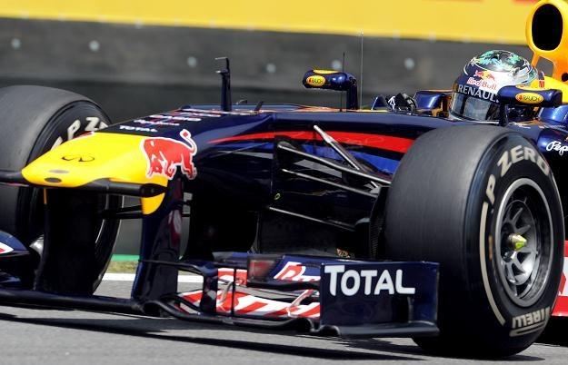 Sebastian Vettel w bolidzie Red Bull Racing /AFP