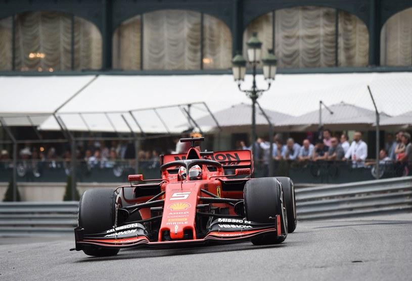 Sebastian Vettel z Ferrari /AFP