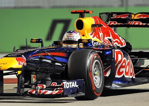 Sebastian Vettel z teamu Red Bull /AFP