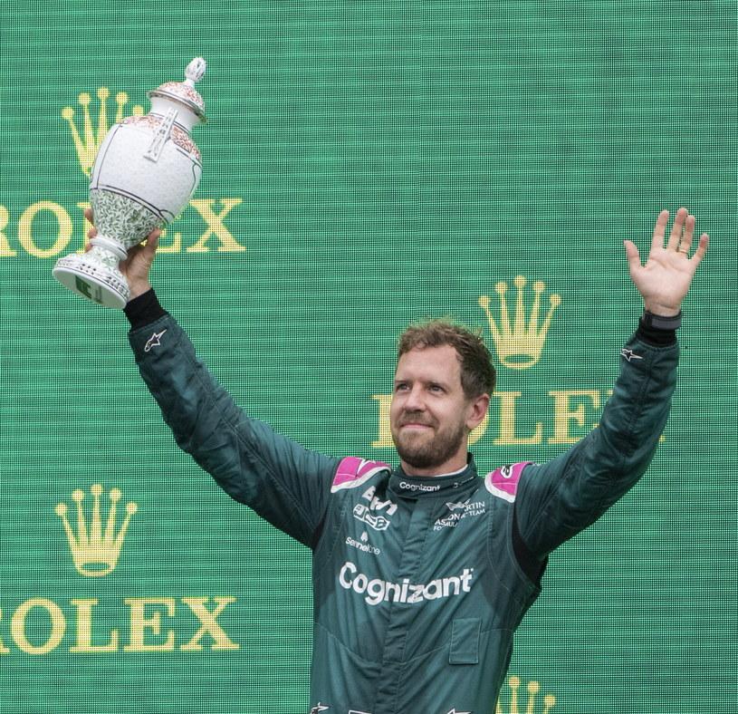 Sebastian Vettel /PAP